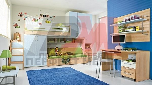 стабилни български двуетажни детски стаи авторски дизайн