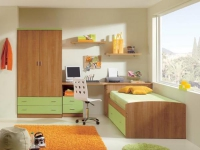 детска стая с едно легло